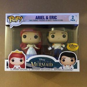 Disney Treasures Ariel & Eric Funko Pop